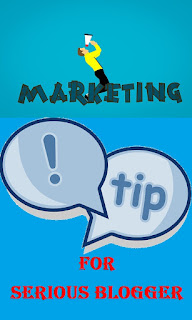 list of marketing tips for the serious blogger