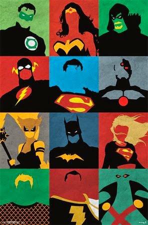 DC Superhero Poster