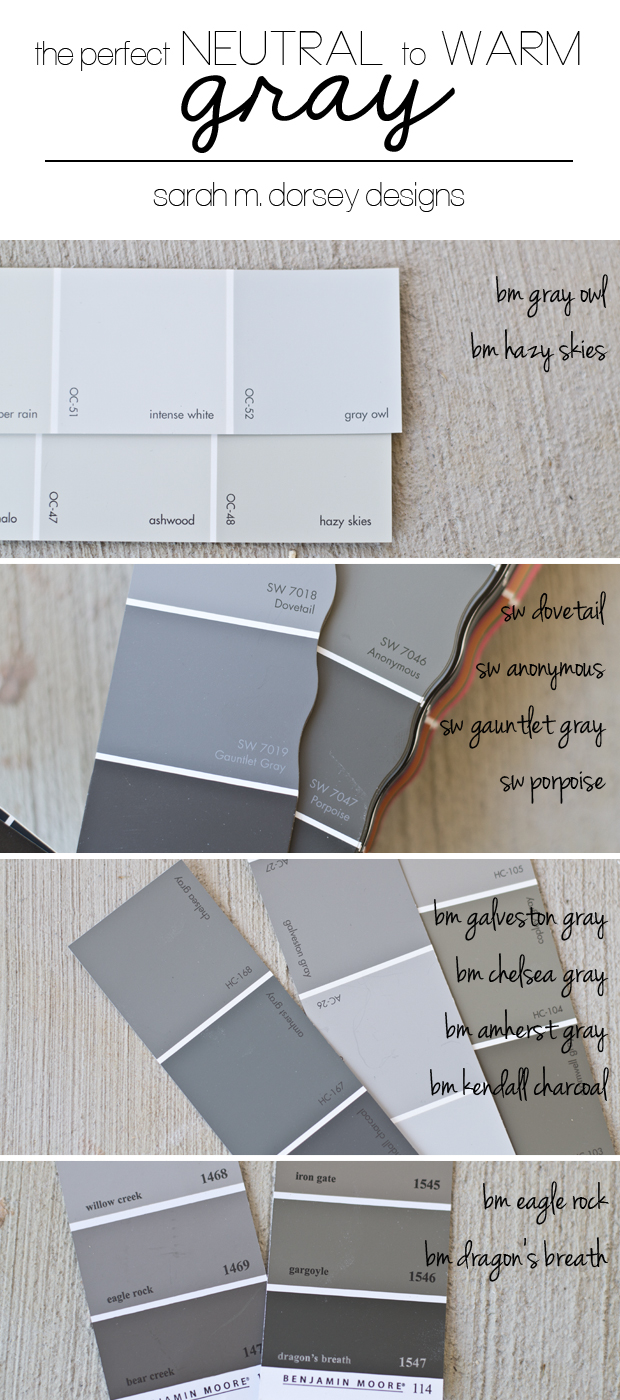 Perfect Gray Paint Color 620 x 1400