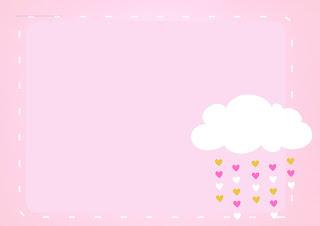 Para hacer invitaciones, tarjetas, marcos de fotos o etiquetas, para imprimir gratis de Lluvia de Bendiciones para Nena.