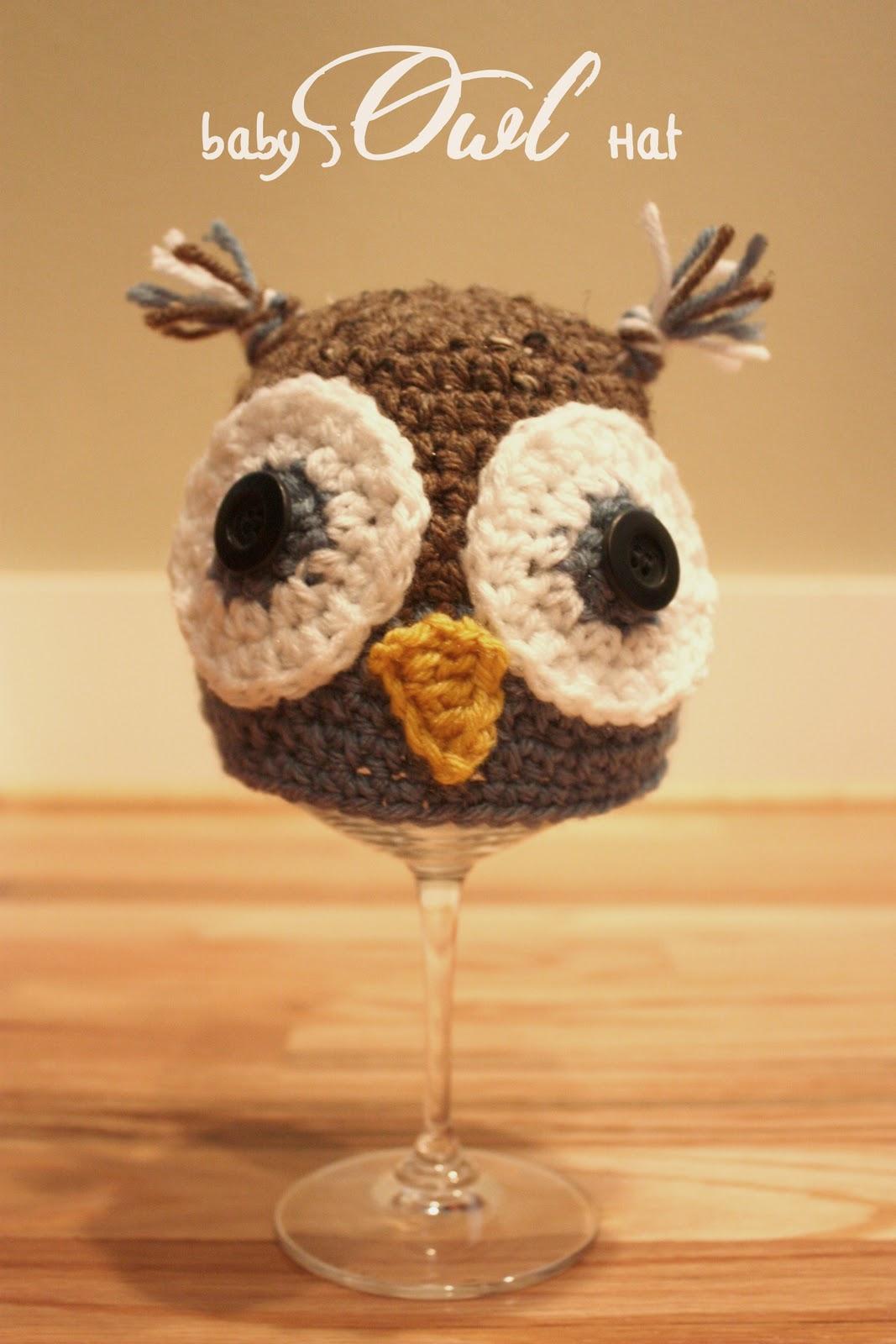 940d1d73557 Crochet Owl Hats - Repeat Crafter Me
