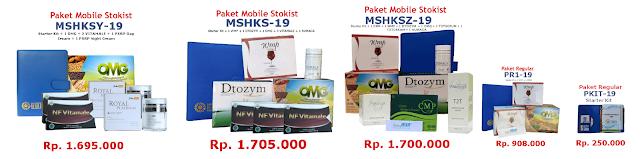 Paket Pendaftaran Distributor HWI