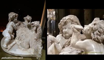 Capra Amaltea, Bernini, guia brasileira em Roma