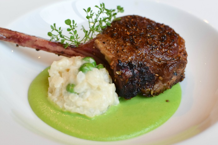 Apropoe's lamb chops