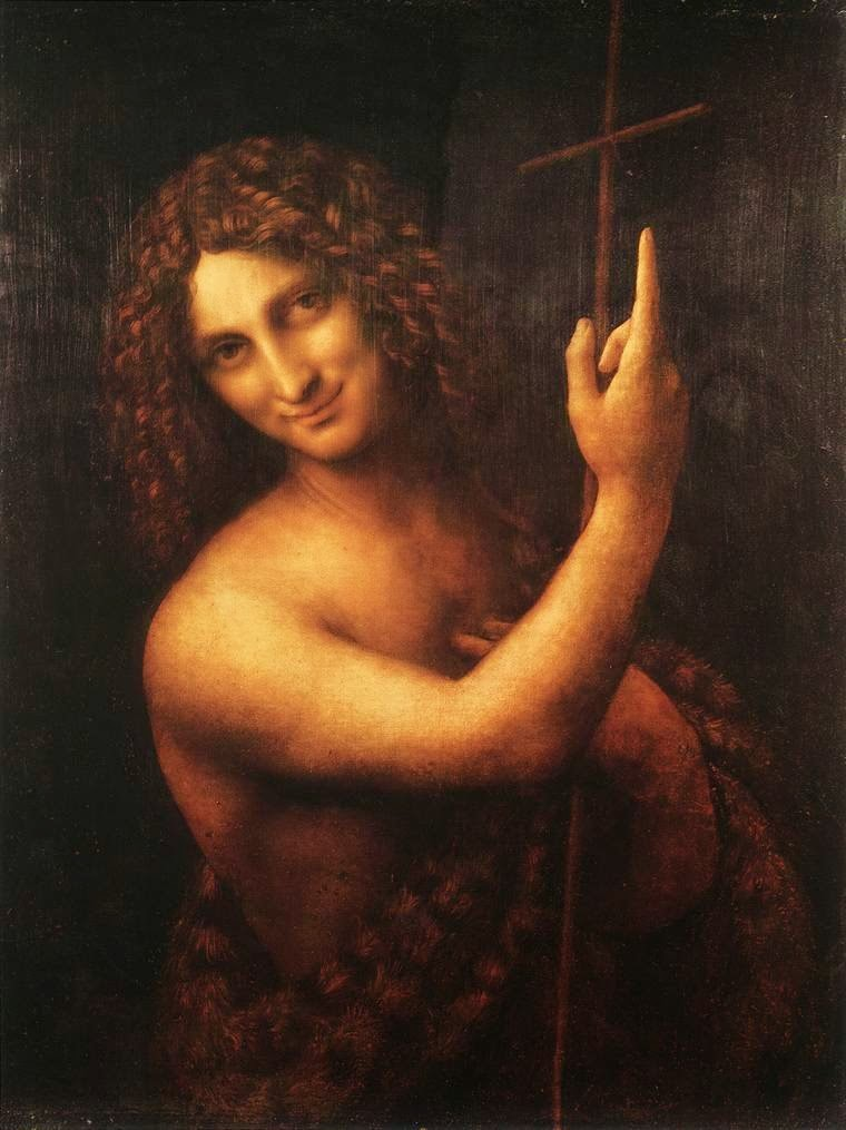 São João Batista - Leonardo Da Vinci | O maior artista de todos os tempos