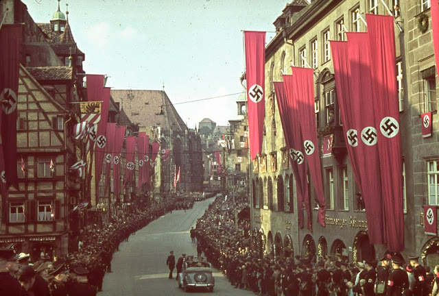 Nuremberg, Germany, 1938.