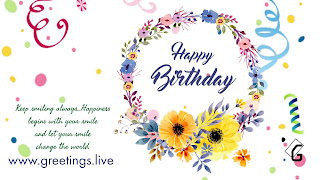 Greetings live sweet happy birthday messages