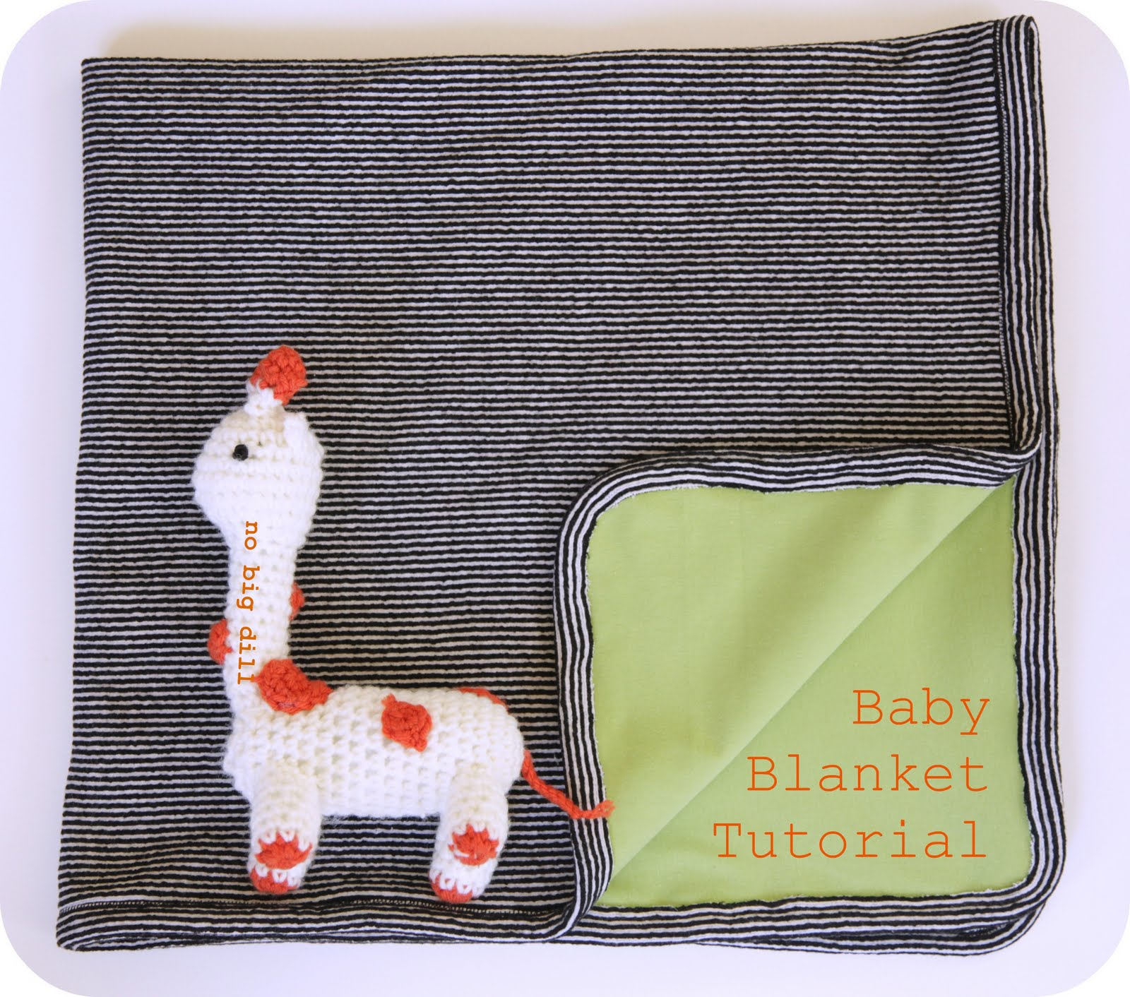 No Big Dill Spark Blanket Lucy