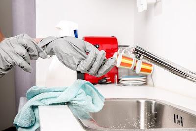 cara membersihkan wastafel keramik maupun stainlistell Tutorial: cara membersihkan wastafel keramik maupun stainlistell