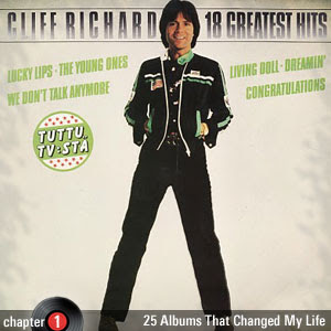 25 Albums That Changed My Life: Chapter 1: Cliff Richard - 18 Greatest Hits