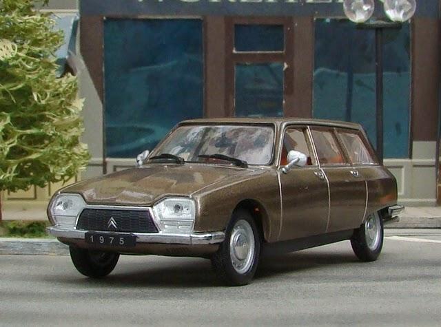 cruiser cl sicos en escala 1 43 citro n gs break 1975. Black Bedroom Furniture Sets. Home Design Ideas