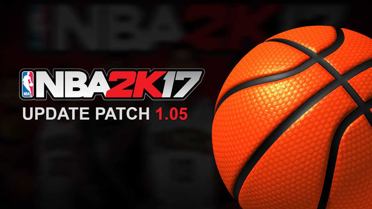 NBA 2K17 Official Update Patch 1.05 - Shuajota | Your Site for NBA 2K Mods