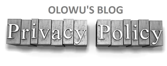 Olowusblog.com Privacy Policy