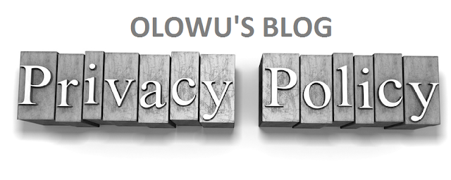 Olowublog.com Privacy Policy