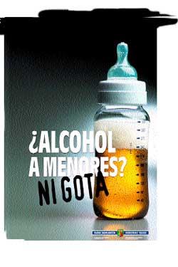 BOTELLON ALCOHOL MENORES VALENCIA ADICCIONES