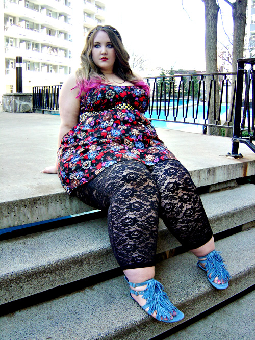The Glitter Thread Fatshion Makeover Bringing In The