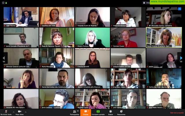 FEDIS reúne a todos las consejerías de Educación de España para presentar medidas a favor del alumnado con dislexia durante el Estado de Alarma