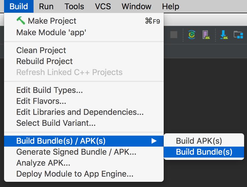 android app bundle apk