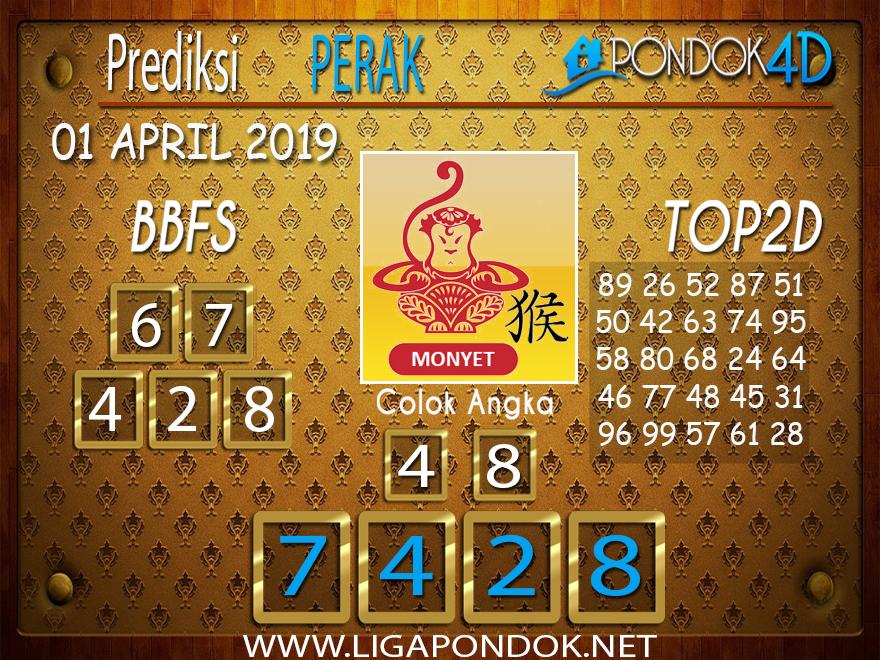 Prediksi Togel PERAK PONDOK4D 01 APRIL 2019