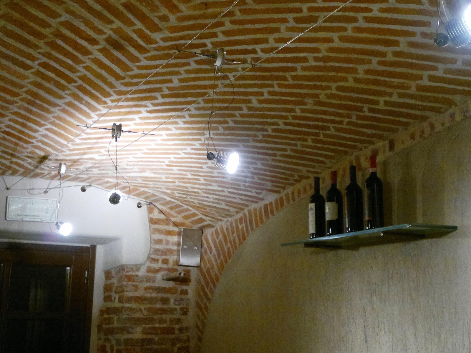 Faretti con cavo in acciaio ispirazione design casa