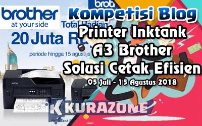 Kompetisi Blog - Brother A3 Printer Berhadiah Total 20 Juta Rupiah