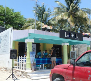 Lol-Ha restaurant and gift store in Chelem, Yucatan