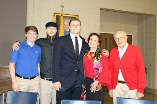 Four Montgomery Catholic Seniors Sign to Play Football on National Signing Day 5