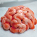 Halloween Human Brains: Red Velvet Cheesecake