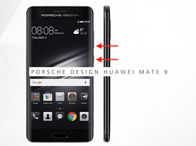 come salvare screenshot huawei mate 9 porsche design