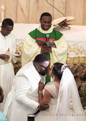 isaac geralds wedding pictures with wife