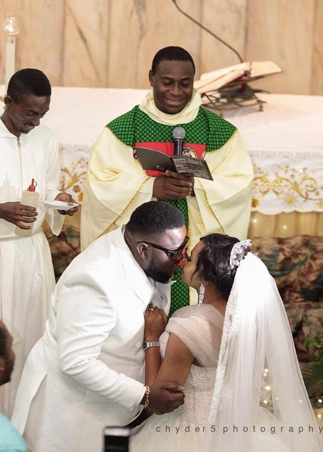 Photos from gospel singer, Isaac Geralds wedding