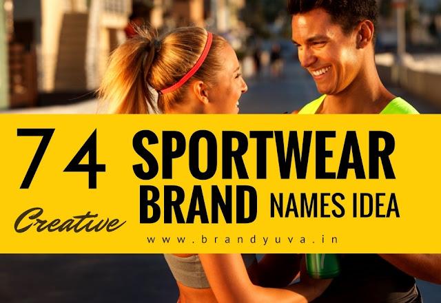 sportwear brand names idea