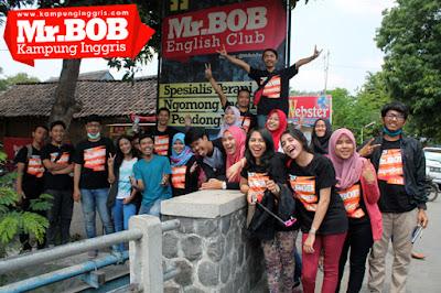 English Area nya Jalan Banget