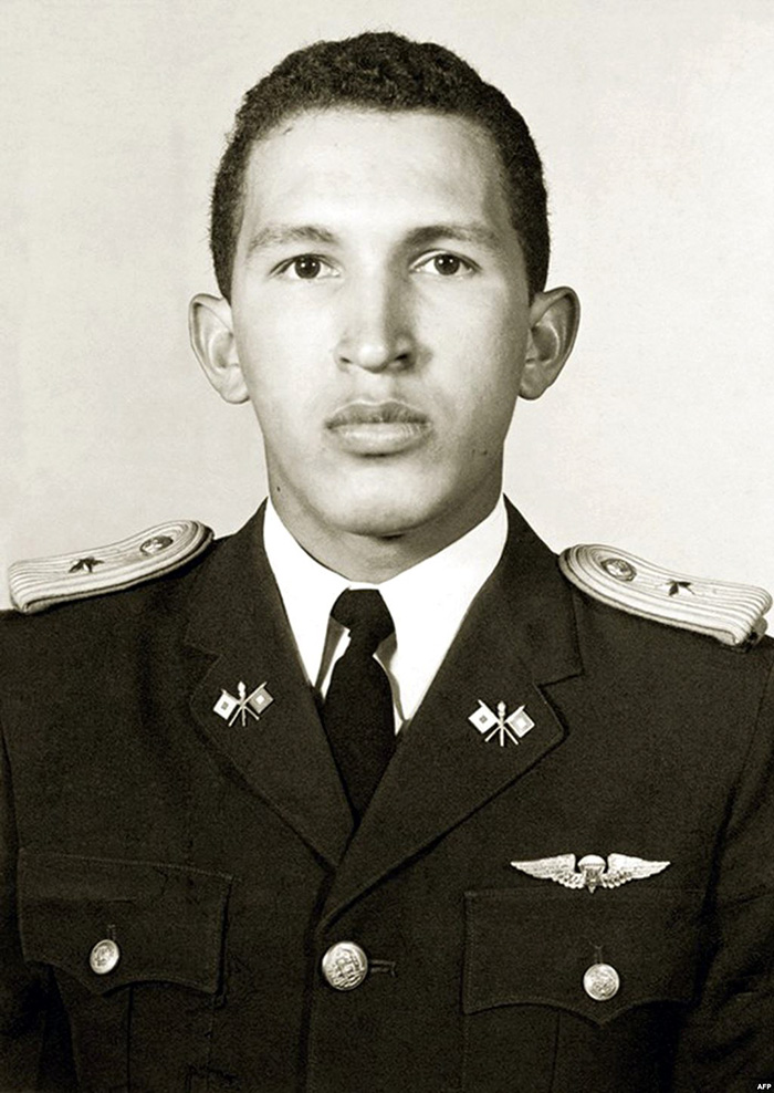30 Pictures Of World Leaders In Their Youth That Will Leave You Speechless - Thin Hugo Chavez In Military Academy
