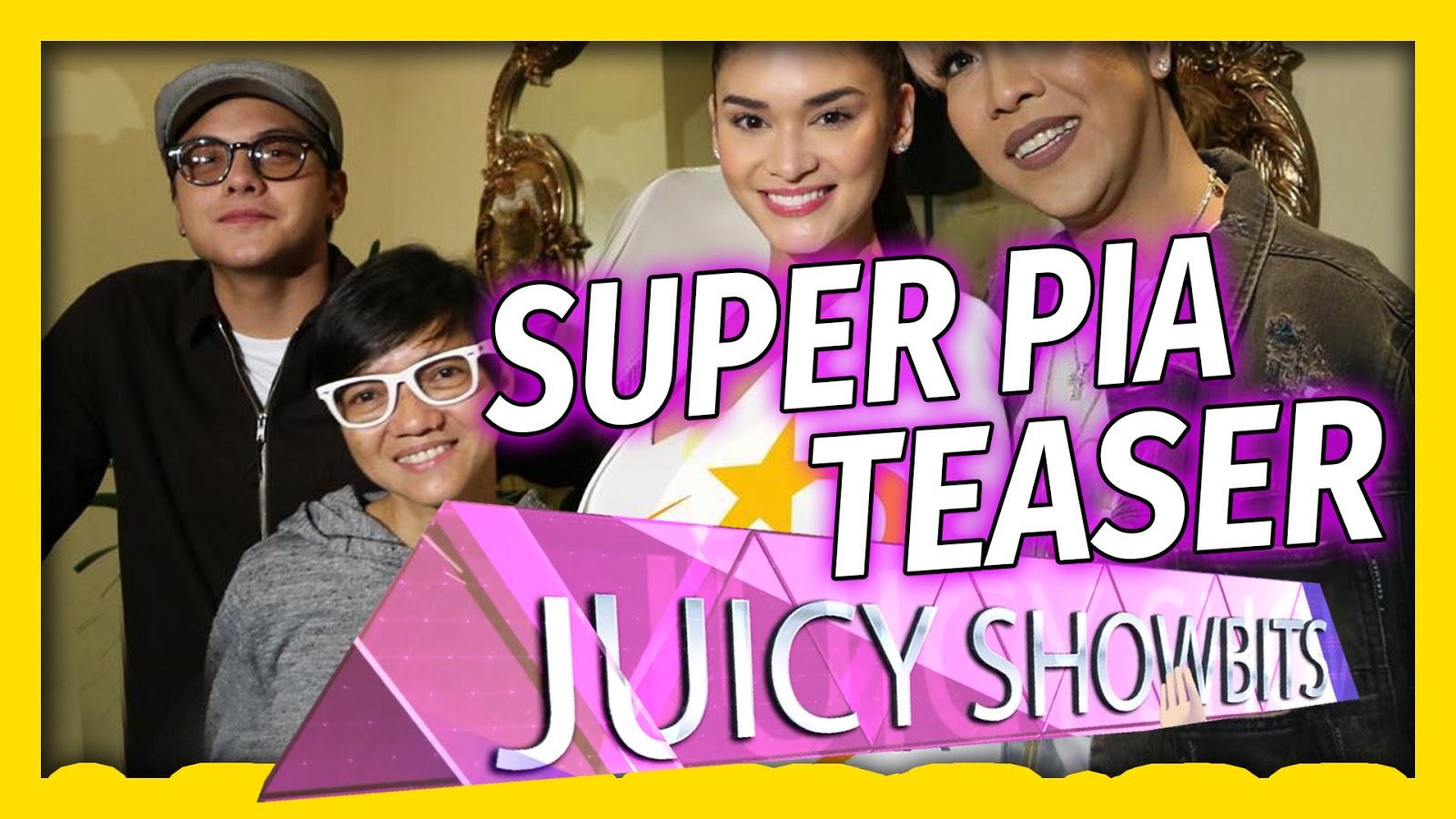 Super Pia movie starring Pia Wurtzbach, Daniel Padilla and