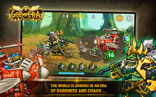 Game God of Era Epic Heroes War MOD APK 0.1.14 For Android