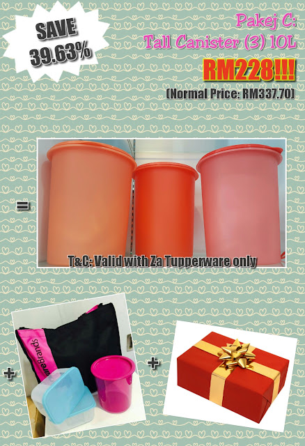 Tupperware Membership Package August - September 2016