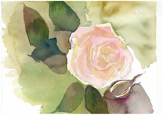 絵画展 ~旧吉田茂邸のバラを描く~【終了しました】