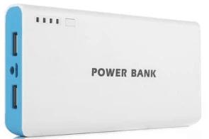 รีวิวขาย MP.DC Power Bank แบตสำรอง รุ่นขอบสี Blue
