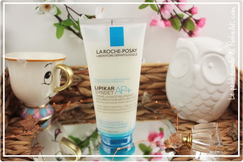 Lipikar AP+ crème lavante savon liquide pour peau très sèche
