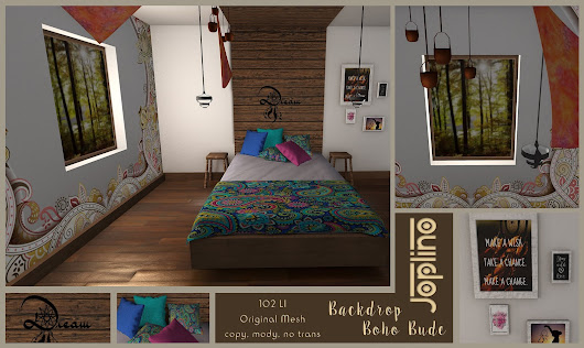 Backdrop Boho Bude [Exclusive The Boho Culture Fair]