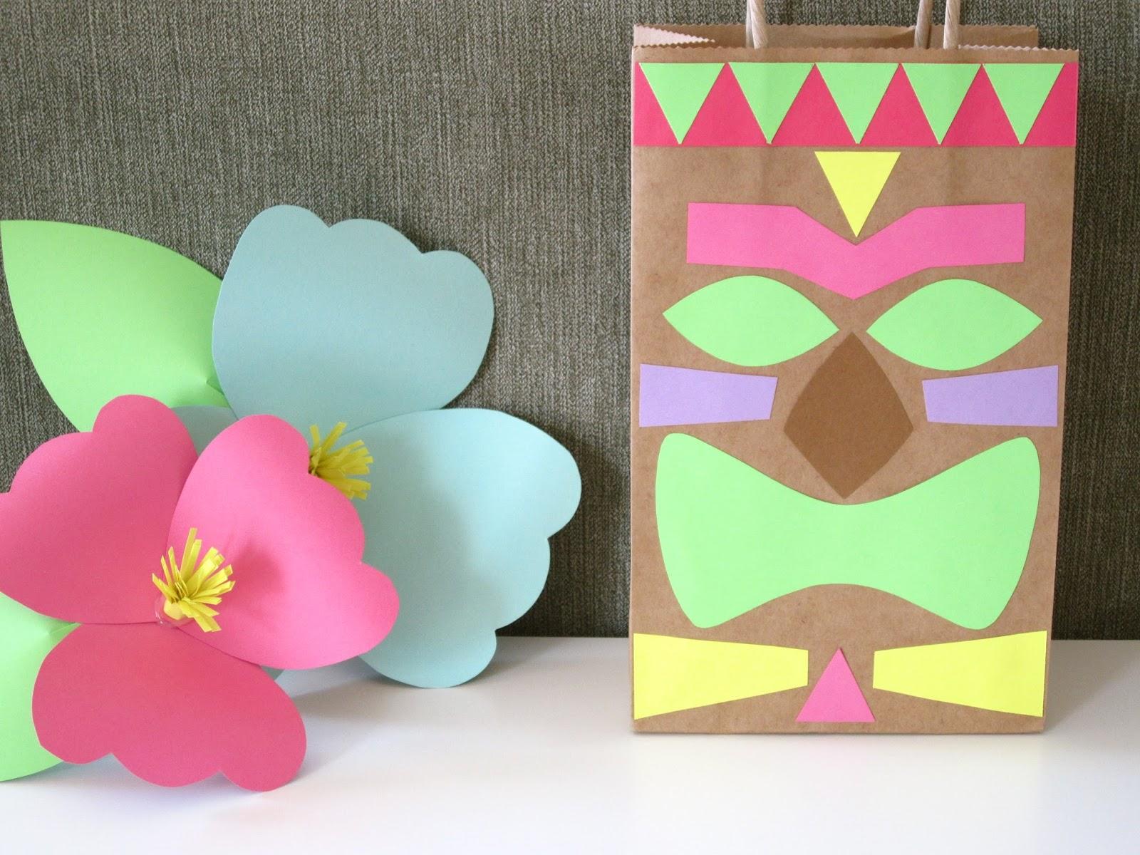 Make Your Own Hawaiian Decorations