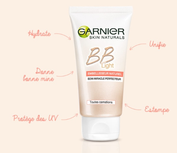 Garnier De By Gaga Bb Light Crème kiOPZXTu