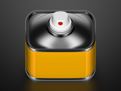 Spray can icon, Konstantin Datz