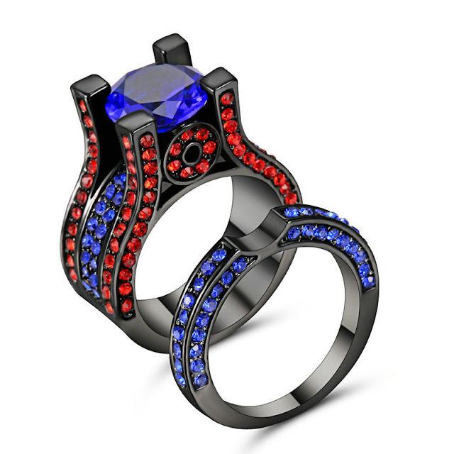 Bijoux, Montres Diamant, Pierre Précieuse Améthyste Et Diamant Pendentif Et Earrings Set Argent Massif Firm In Structure