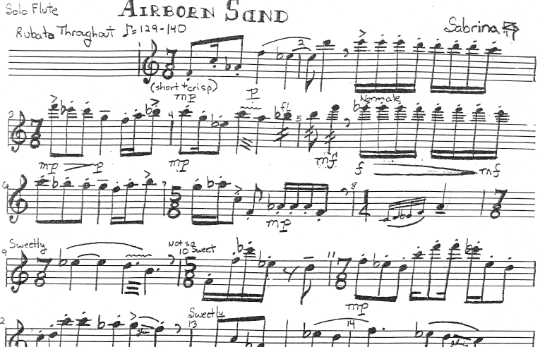 Free Sheet Music Download: Classical Music Flute Solo