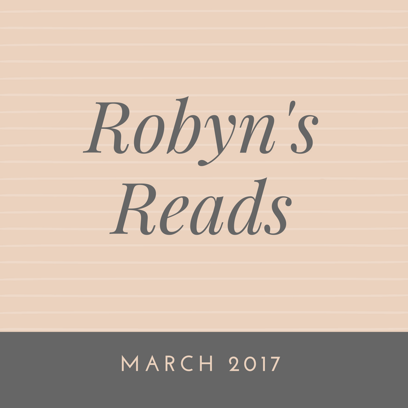 "Click through to see my thoughts on the books I read in March. To see more summaries and reviews click on the ""Read"" button at the top of the page!"