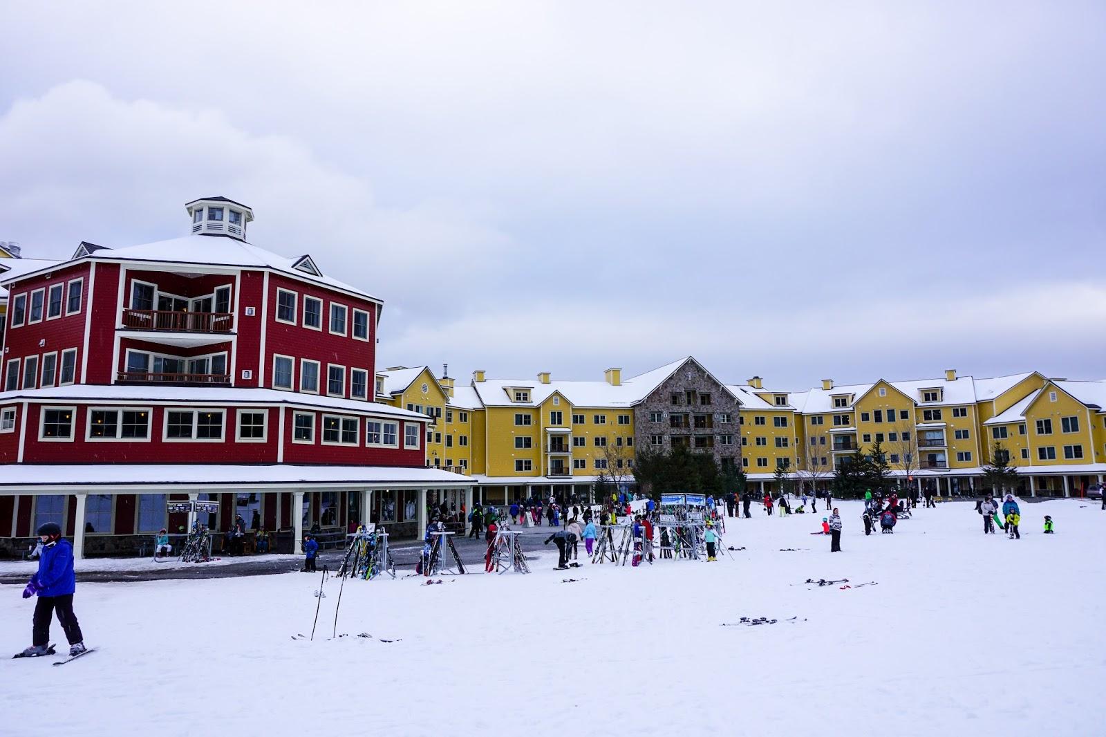 ski vt at okemo mountain resort- ludlow, vermont