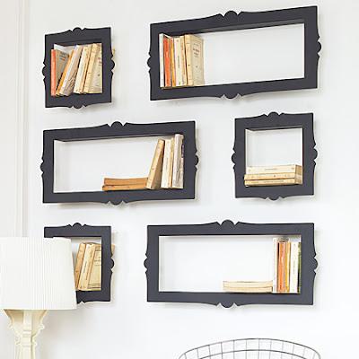 frame shelves1 Unique shelving options 15