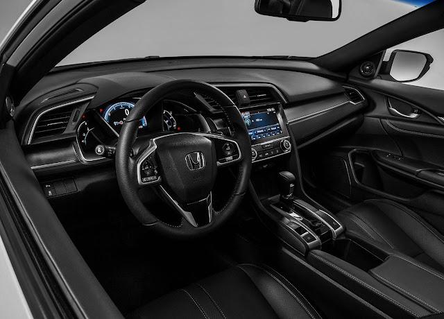 Novo Honda Civic 2017 - interior